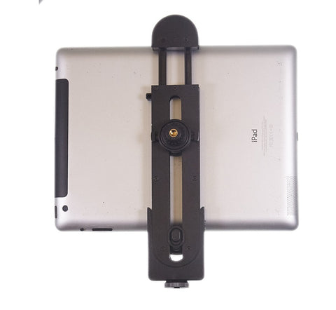 "Replacement 2 in 1 Bracket Assembly- Holds Smartphones, iPads / Tablets and DSLR Cameras - For Our 19"" ring light kits"