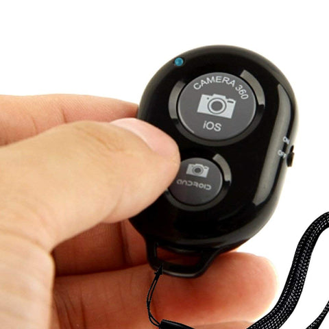 SOCIALITE - Bluetooth Camera Shutter Remote Control for Smartphones & iPads - Black