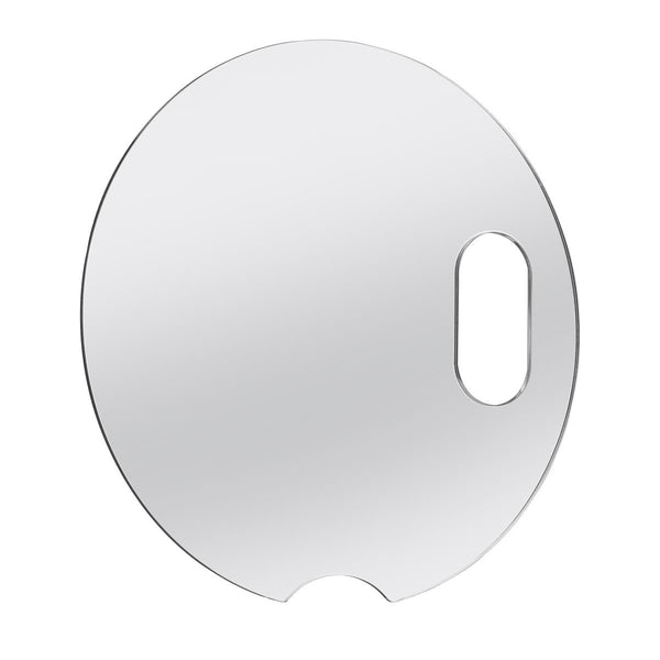 "Vanity Mirror Attachment For 12"" Ring Light With Peek A Boo Slot"