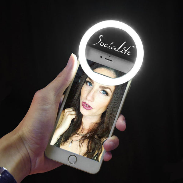 Socialite Mini Led Selfie Ring Light Portable Photo
