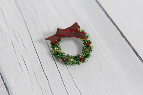 Christmas Wreath - Green - Tutu Irresistible Boutique