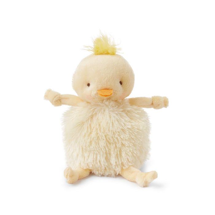 Roly Poly Plush Bunny - Yellow Chick