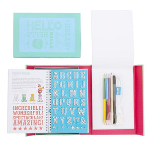 The Lovely Book Of Lettering - Tutu Irresistible Boutique