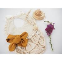 Mustard Topknot Headband - Tutu Irresistible Boutique