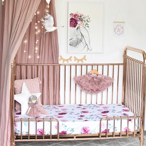 Wanderlust Fitted Cot Sheet - Tutu Irresistible Boutique