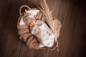 Paradise | Snuggle Swaddle & Topknot Set