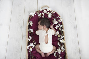Organic Muslin Wrap - Ruby - Tutu Irresistible Boutique