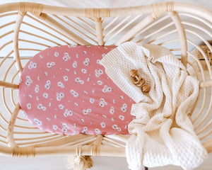 Daisy | Bassinet Change Pad Cover - Tutu Irresistible Boutique