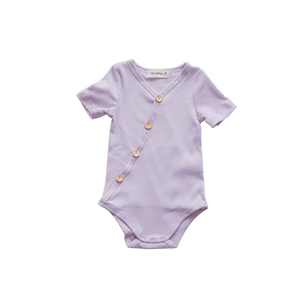 Lilac Short Sleeve Bodysuit - PRE-SALE