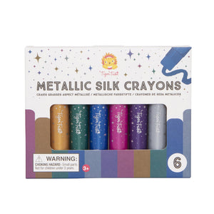 Metallic Silk Crayons - Tutu Irresistible Boutique