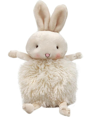 Roly Poly Plush Bunny - Cream - Tutu Irresistible Boutique