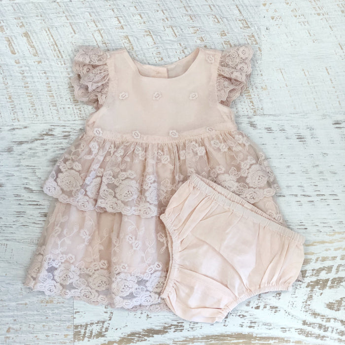 Blossom Lace Set - Blush
