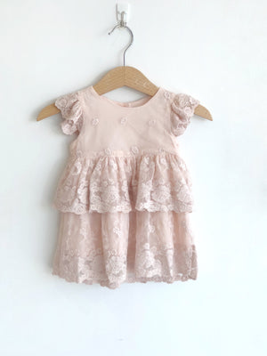 Blossom Lace Set - Blush - Tutu Irresistible Boutique