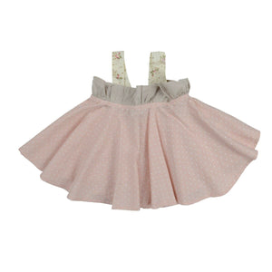 Blush Cream Swing Top - Tutu Irresistible Boutique