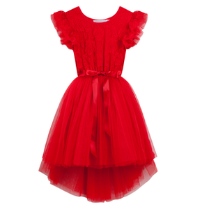 Libby Lace Tutu - Red - Tutu Irresistible Boutique