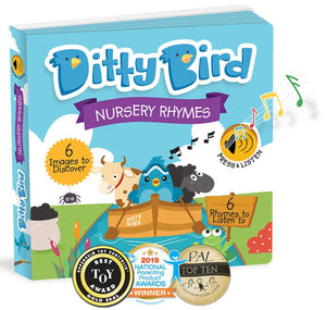 Ditty Bird Books - Nursery Rhymes - Tutu Irresistible Boutique