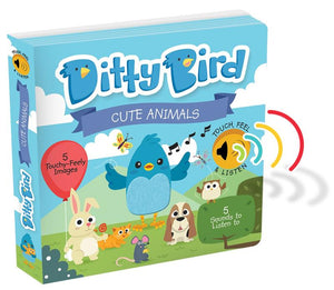Ditty Bird Books - Cute Animal Sounds - Tutu Irresistible Boutique