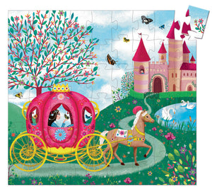 Elise's Carriage - Silhouette Puzzle 54pcs - Tutu Irresistible Boutique