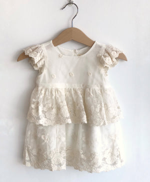 Blossom Lace Set - Cream - Tutu Irresistible Boutique