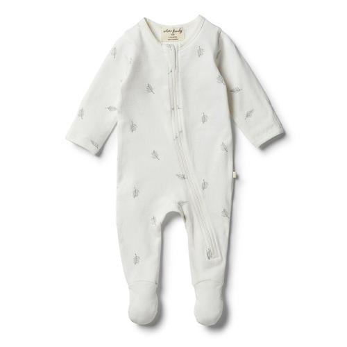 Wilson & Frenchy Float Away Organic Zipsuit