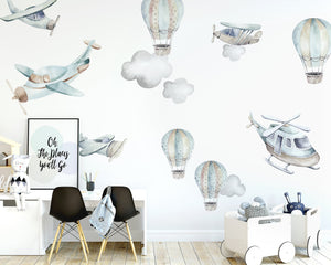 Flying High Decal Set - Tutu Irresistible Boutique