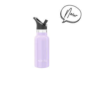 MontiiCo Mini Drink Bottle - Lavender - Tutu Irresistible Boutique