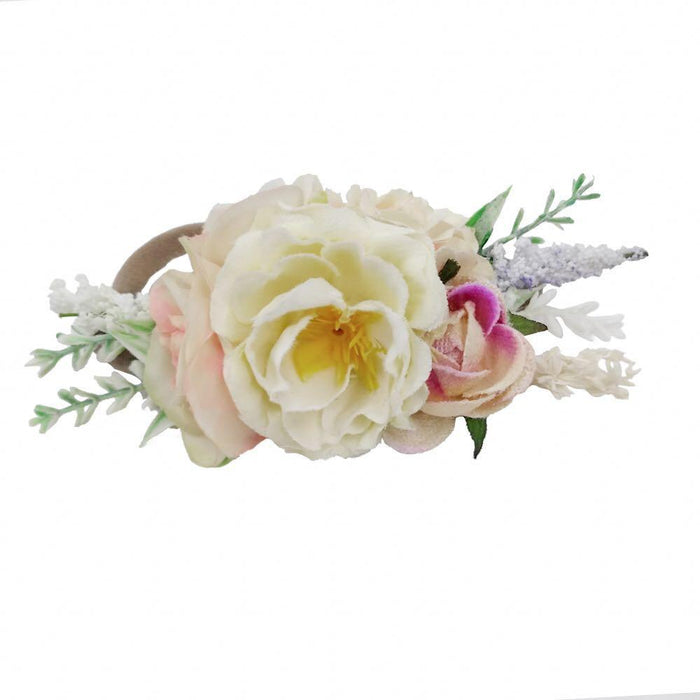 Luxe Floral Headband - Cora