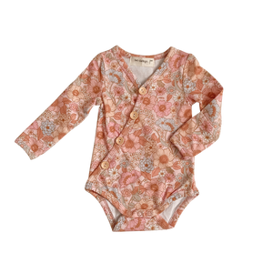 Wildflower Long Sleeve Bodysuit - PRE-SALE