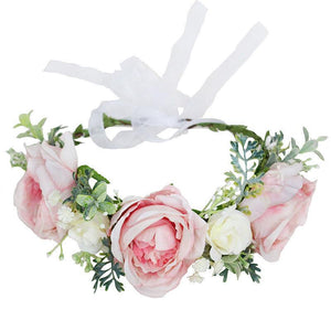 Luxe Floral Crown - Emily - Tutu Irresistible Boutique