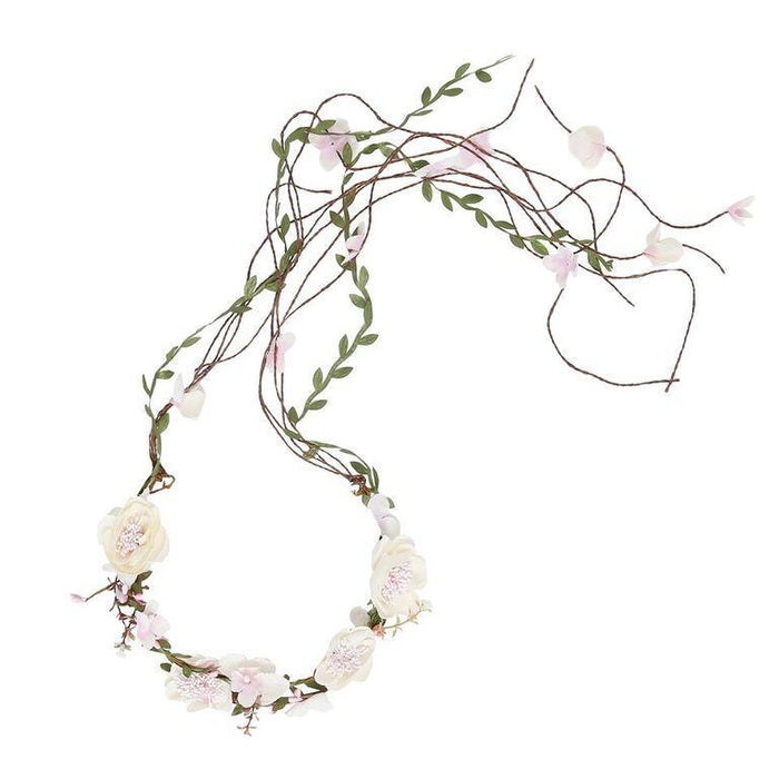 Olivia Flower Garland - Natural