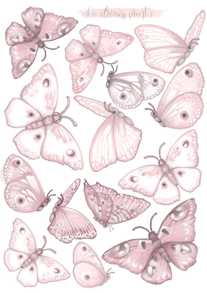 Butterflies 'Fairy Magic' Wall Decals