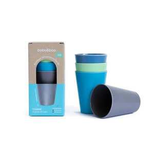 Bobo & Boo Kids Cup Set - Coastal 300ml - Tutu Irresistible Boutique
