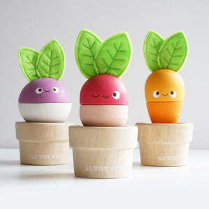 Petilou Stacking Veggies - Tutu Irresistible Boutique