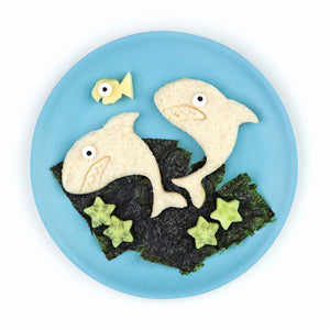 Lunch Punch Sandwich Cutters - Shark - Tutu Irresistible Boutique
