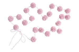 Mini Pom Pom Garlands - Blush