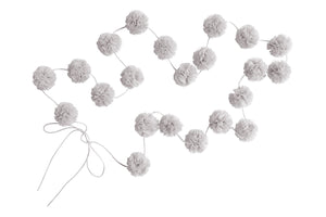 Mini Pom Pom Garlands - Oyster