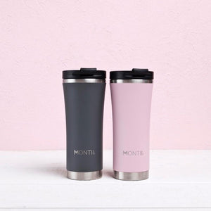 MontiiCo Hot Stuff Reusable Coffee Cup - Dusty Pink