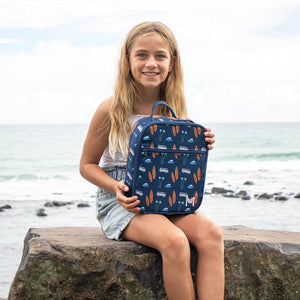 MontiiCo Insulated Lunch Bag - Surfs Up