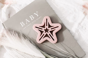 Little Woods Shooting Star Teether - Tutu Irresistible Boutique