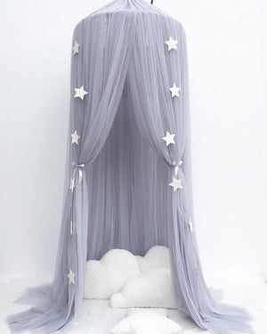 Dreamy Canopy - Grey - Tutu Irresistible Boutique