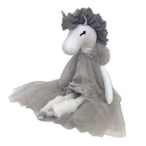 Unicorn Princess - Grey - Tutu Irresistible Boutique