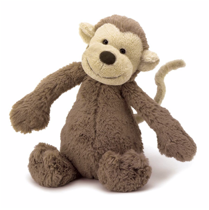 Jellycat Bashful Monkey - (Medium)