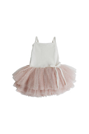 Swan Princess Dress - Champagne - Tutu Irresistible Boutique