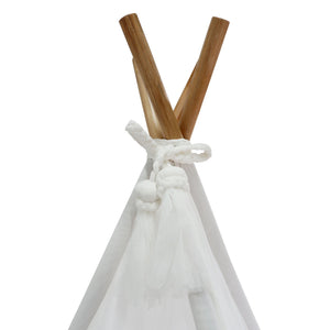 Spinkie Sheer Teepee - Cloud - Tutu Irresistible Boutique