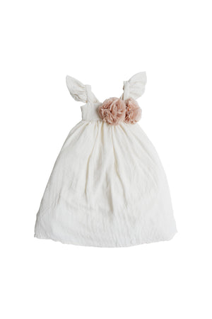 Spinkiewear Dreamy Doll Dress - Cream - Tutu Irresistible Boutique