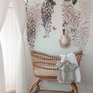 Wisteria Wall Decals - Half Pack - Tutu Irresistible Boutique