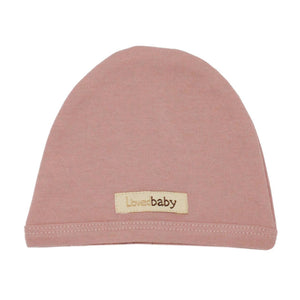 Organic Cute Cap - Mauve - Tutu Irresistible Boutique