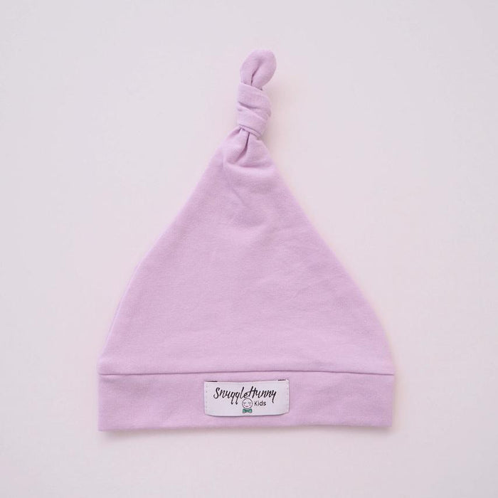 Knotted Beanie - Lilac