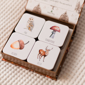 Woodland Memory Card Game - Tutu Irresistible Boutique