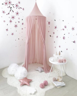 Sheer Canopy - Dusty Pink - Tutu Irresistible Boutique